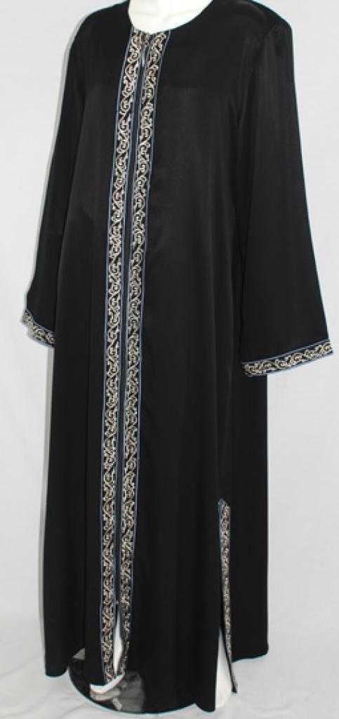Al Karam Hanan Embroidered Abaya  ab469