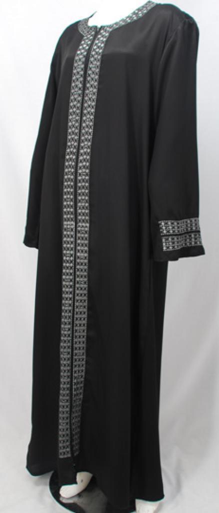 Al Karam Hayfa Embroidered Abaya ab471
