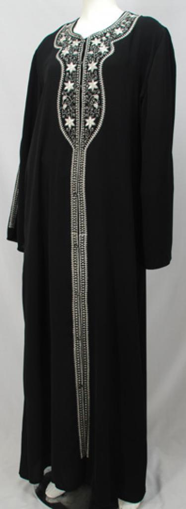 Al Karam Azhar Embroidered Abaya ab473