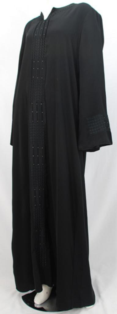 Al Karam Yaminah Embroidered Abaya  ab477