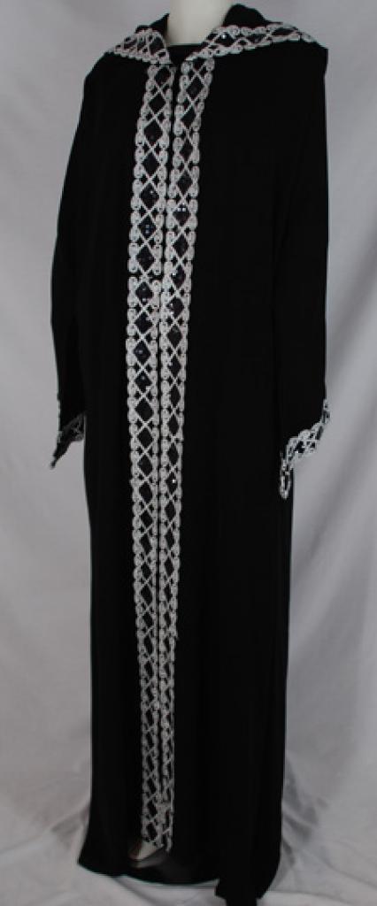 Al Karam Jumanah Embroidered Abaya ab482