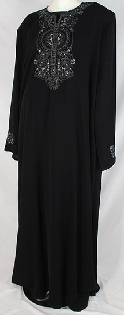 Al Karam Rahimah Embroidered Abaya ab484