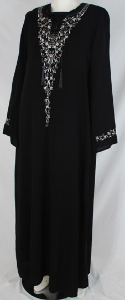 Al Karam Bahira Embroidered Abaya ab485