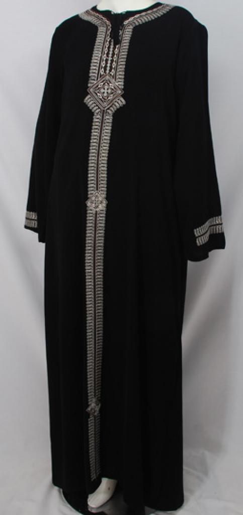 Al Karam Sakinah Embroidered Abaya ab486