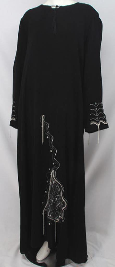 Al Karam Baraka Embroidered Abaya  ab487