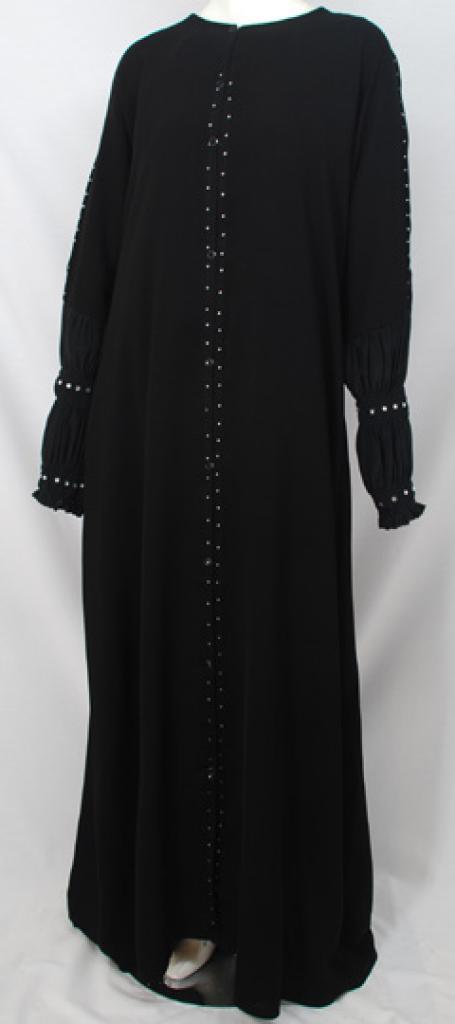 Al Karam Janan Embroidered Abaya  ab488