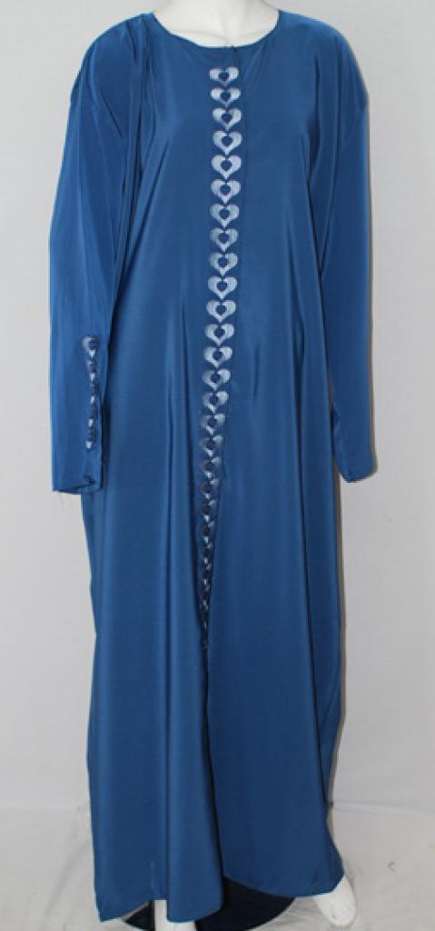 Traditional Embroidered Egyptian Abaya ab497