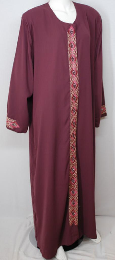 Traditional Embroidered Egyptian Abaya ab498