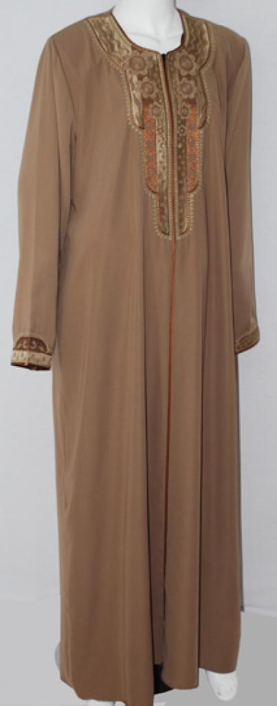 Al Karam Rawiyah Embroidered Abaya  ab499