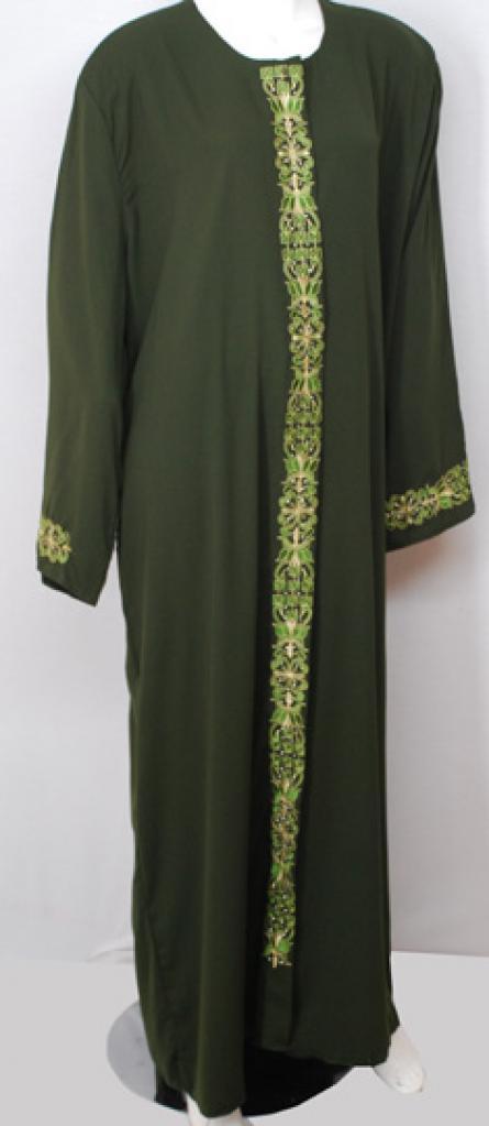 Traditional Embroidered Egyptian Abaya ab500