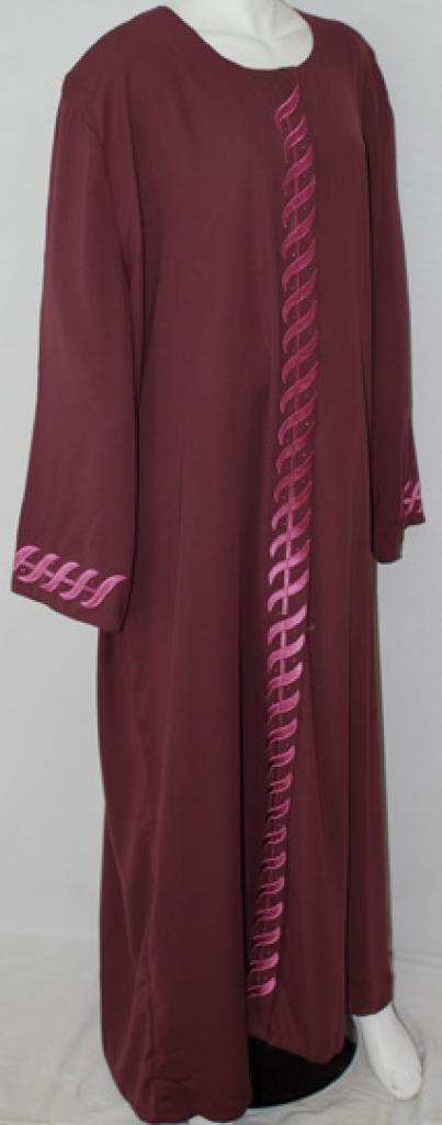 Traditional Embroidered Egyptian Abaya ab501