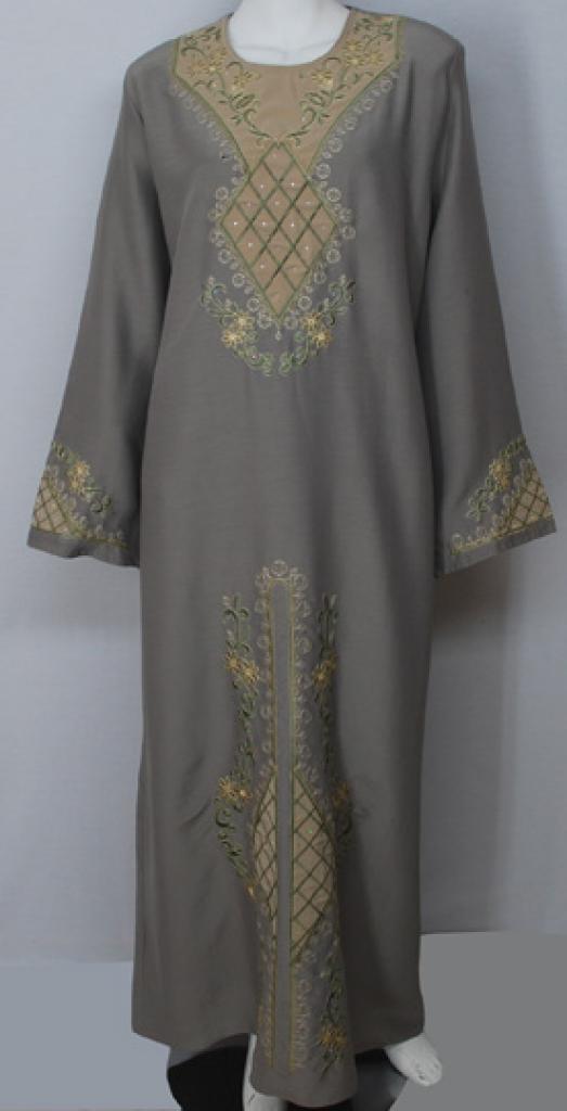 Traditional Embroidered Egyptian Abaya  ab502