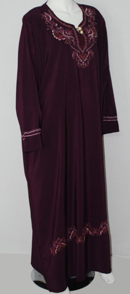 Traditional Embroidered Egyptian Abaya ab505