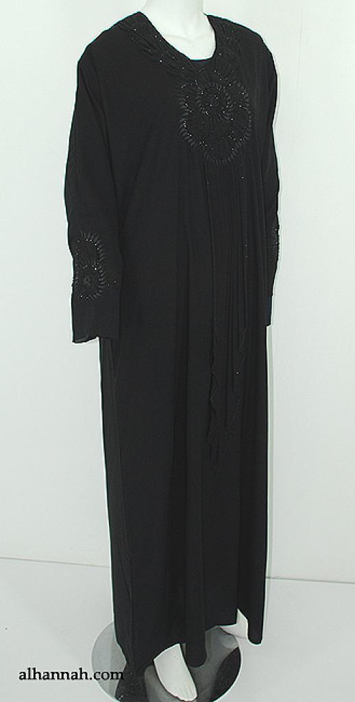 Premium Khalije Embroidered Jobot Abaya ab554