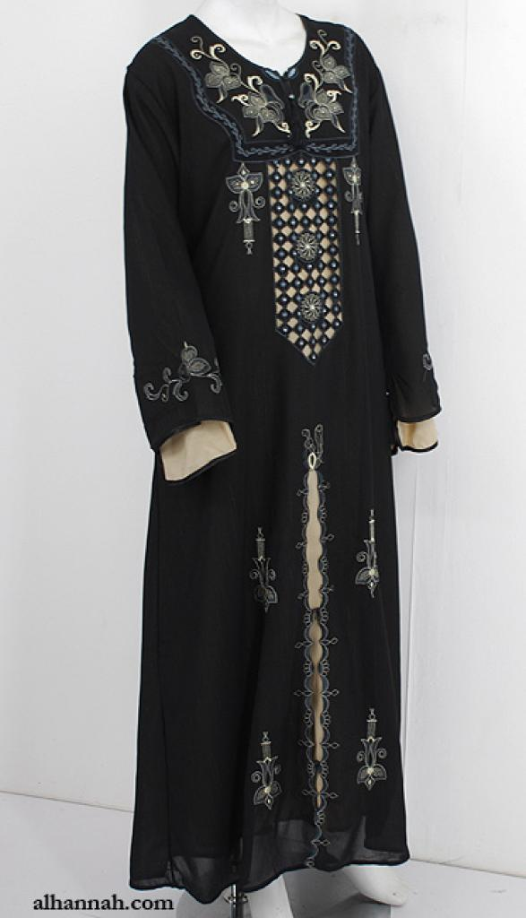 Embroidered Abaya for Women