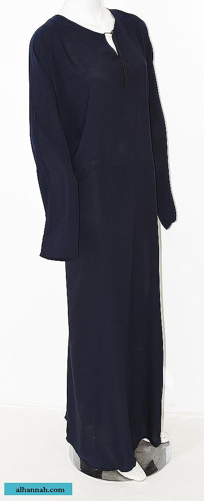 Saudi Style Pull Over Abaya  ab665