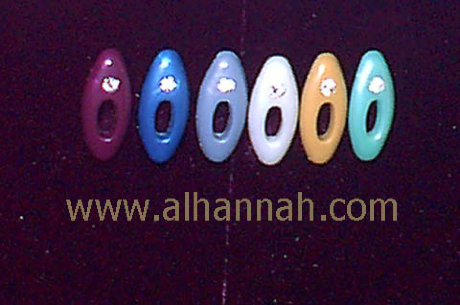 Colored Hijab Pins With Rhinestones  ac110