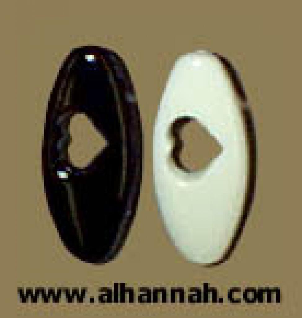 Black and White Hijab Pins ac119