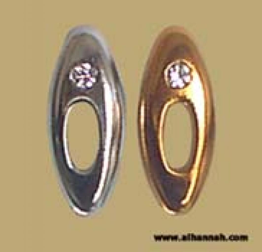 Metallic Style Hijab Pin ac131