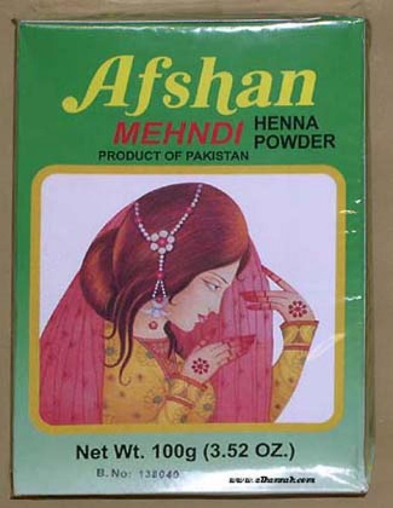 Afshan Mehndi Henna Powder ac134