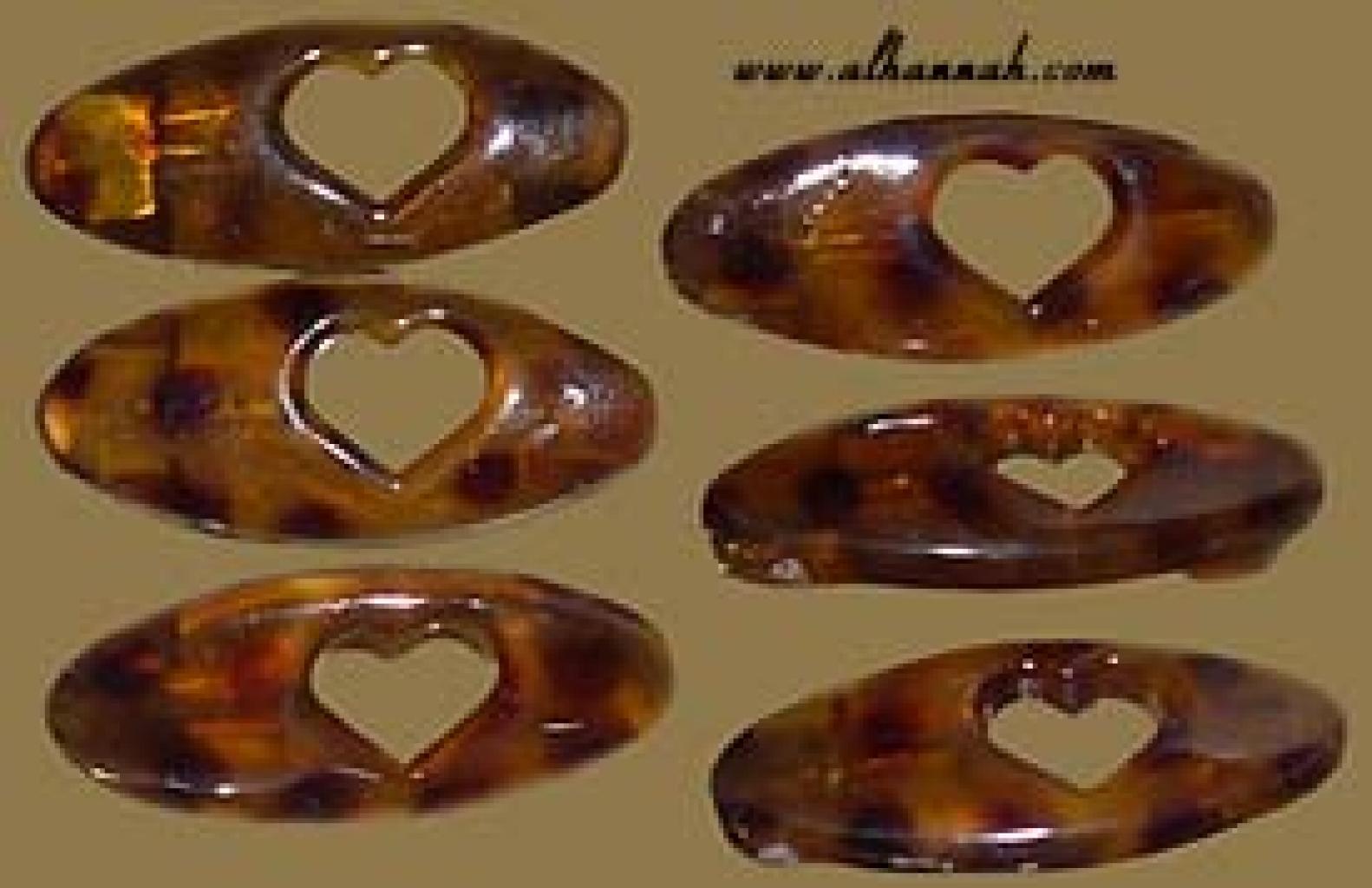Set of Tortoise Pattern Hijab Pins ac141