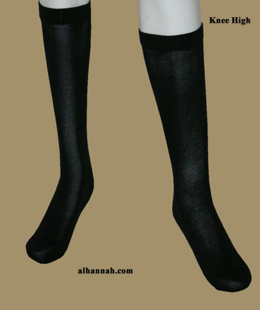 Opaque Knee High Socks ac183