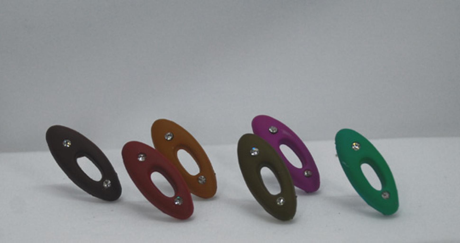 Clay Style Rhinestone Hijab Pins  ac213