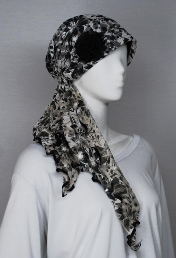 Printed Turban Cap ac250