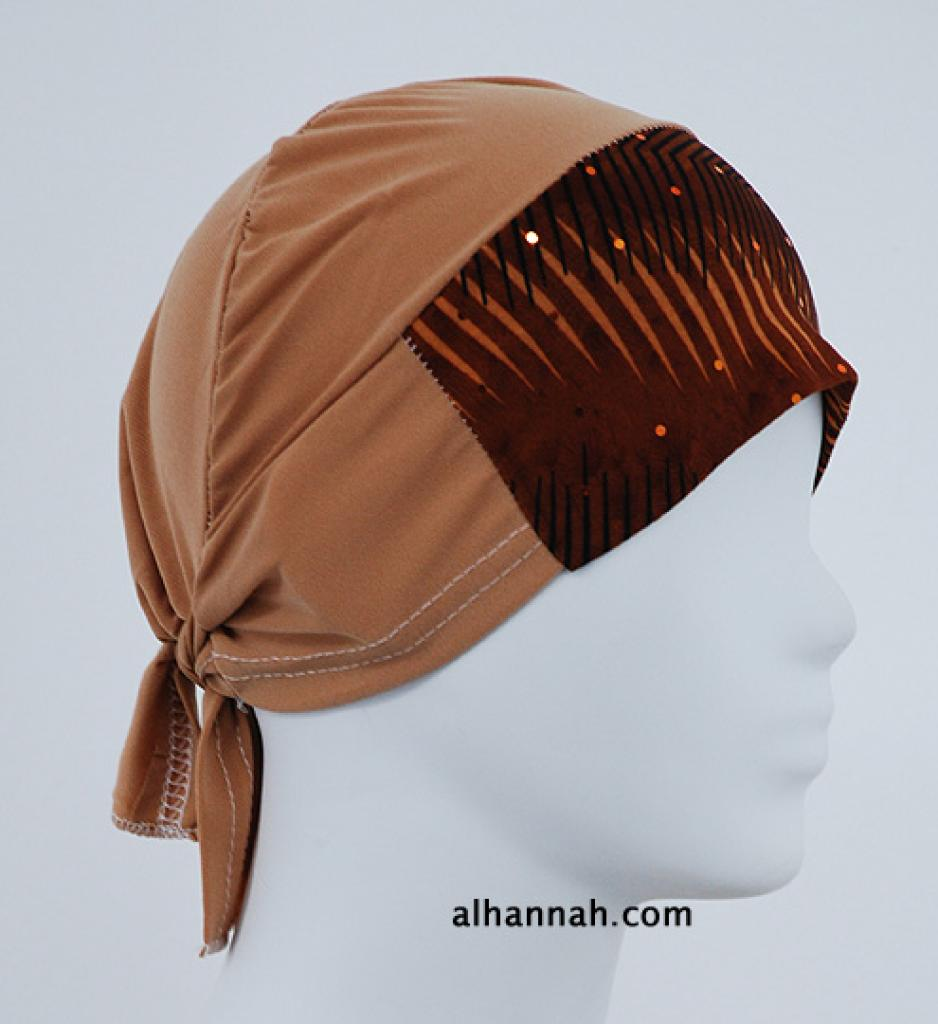 Al Amirah style Printed underscarf  ac261