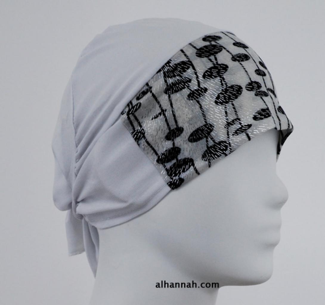Al Amirah style Printed underscarf  ac268