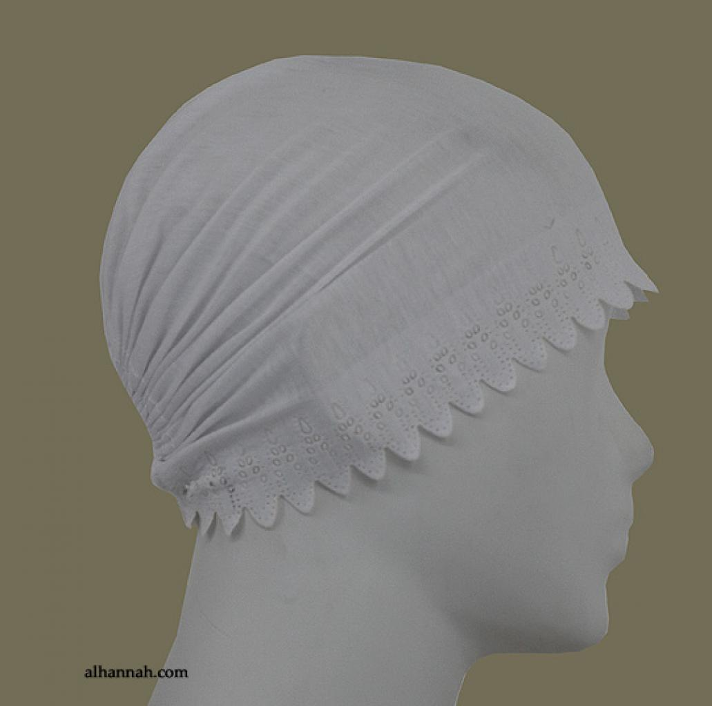 Al Amirah style Scalloped-Edge underscarf  ac273