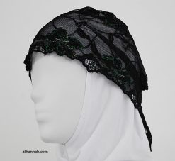 Solid Color Lace Underscarf ac274