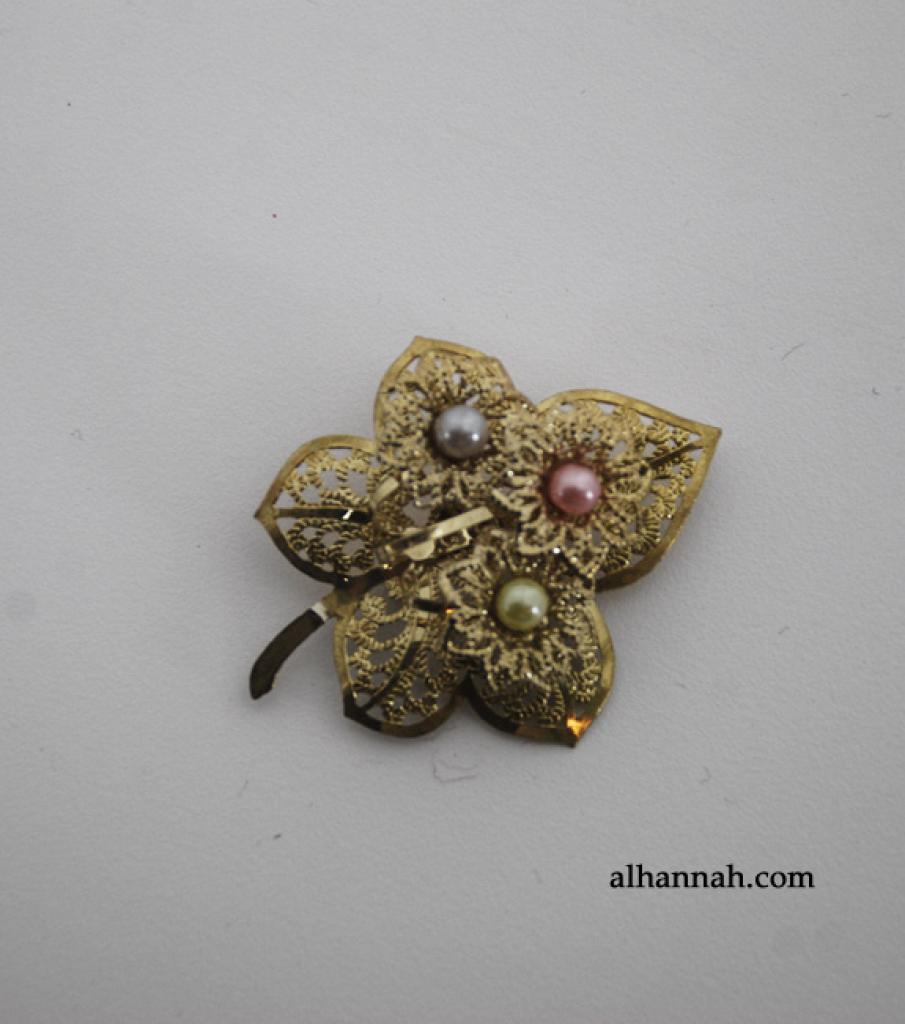 Brass Brooch Pin ac277
