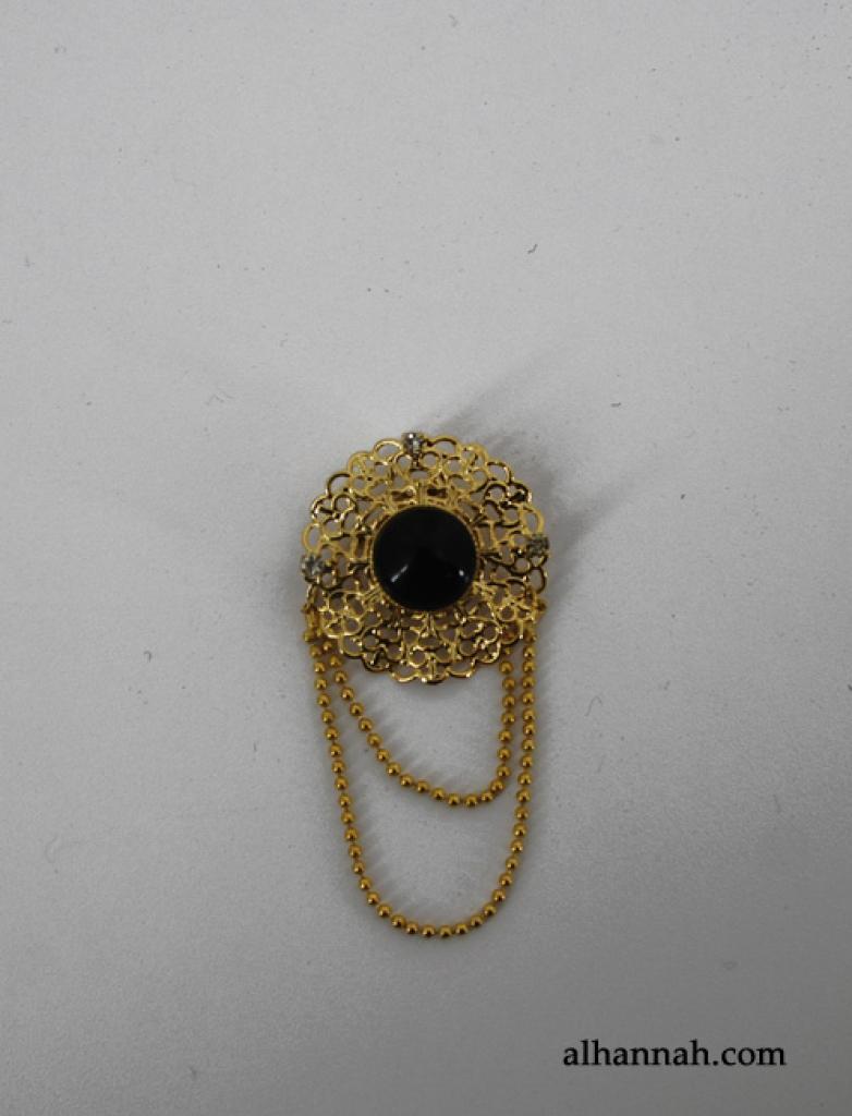 Brass Brooch Pin ac279