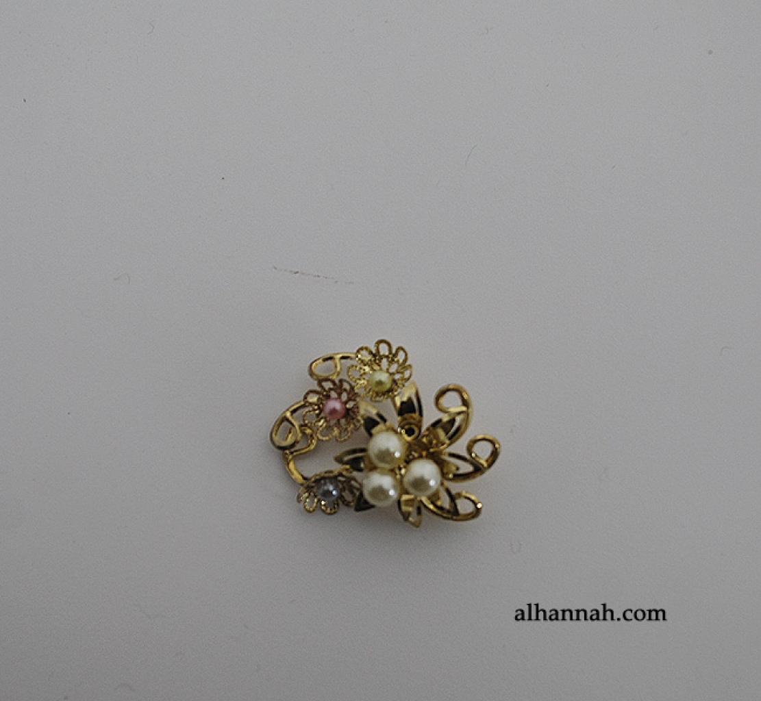 Brass Brooch Pin ac280