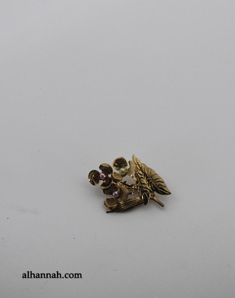Brass Brooch Pin ac282