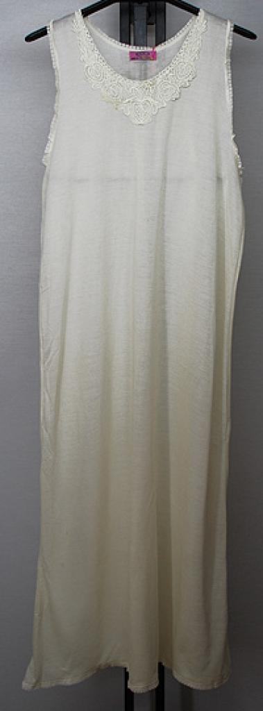 Lightweight Cotton Maxi-Slip ac291