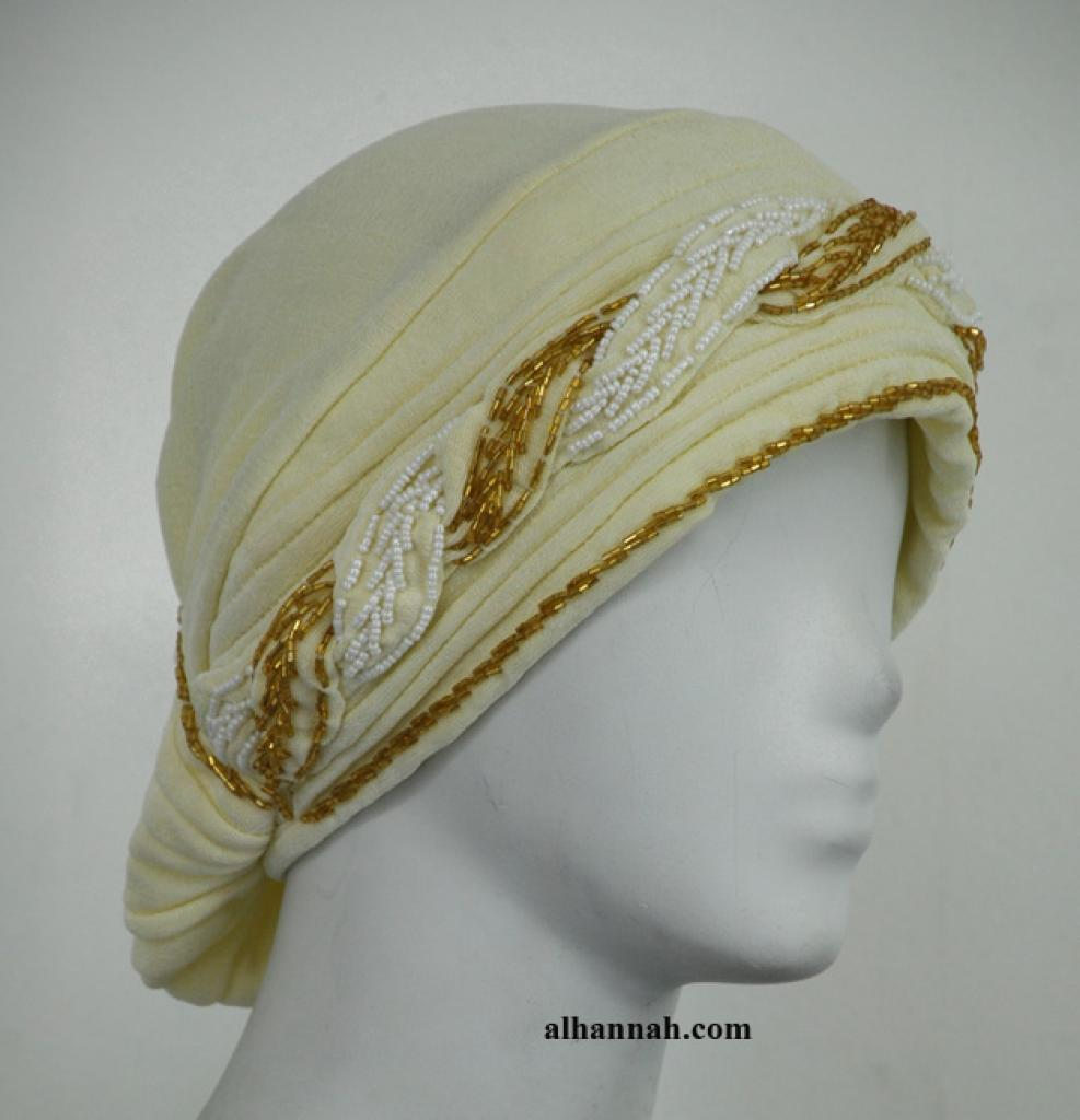 Al Amirah style beaded underscarf ac298