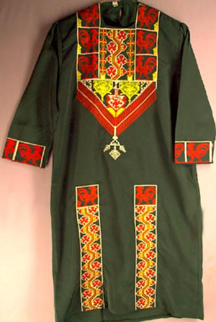 Smaller Girls embroidered Jordanian Thobe ch116