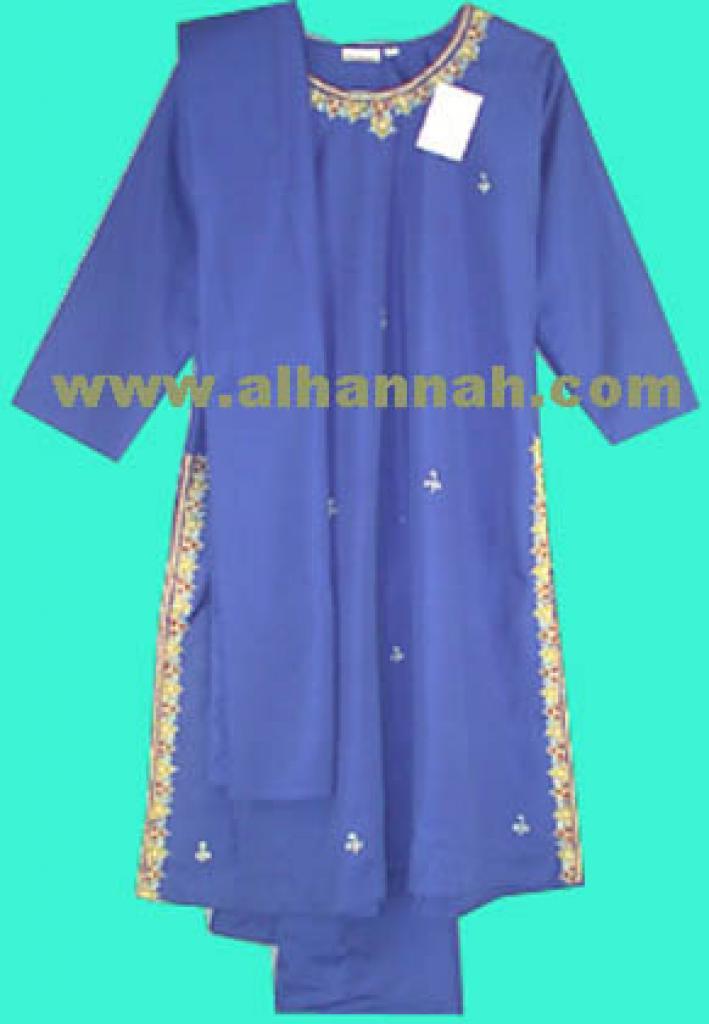 Girl's Embroidered Salwar Kameeze ch126