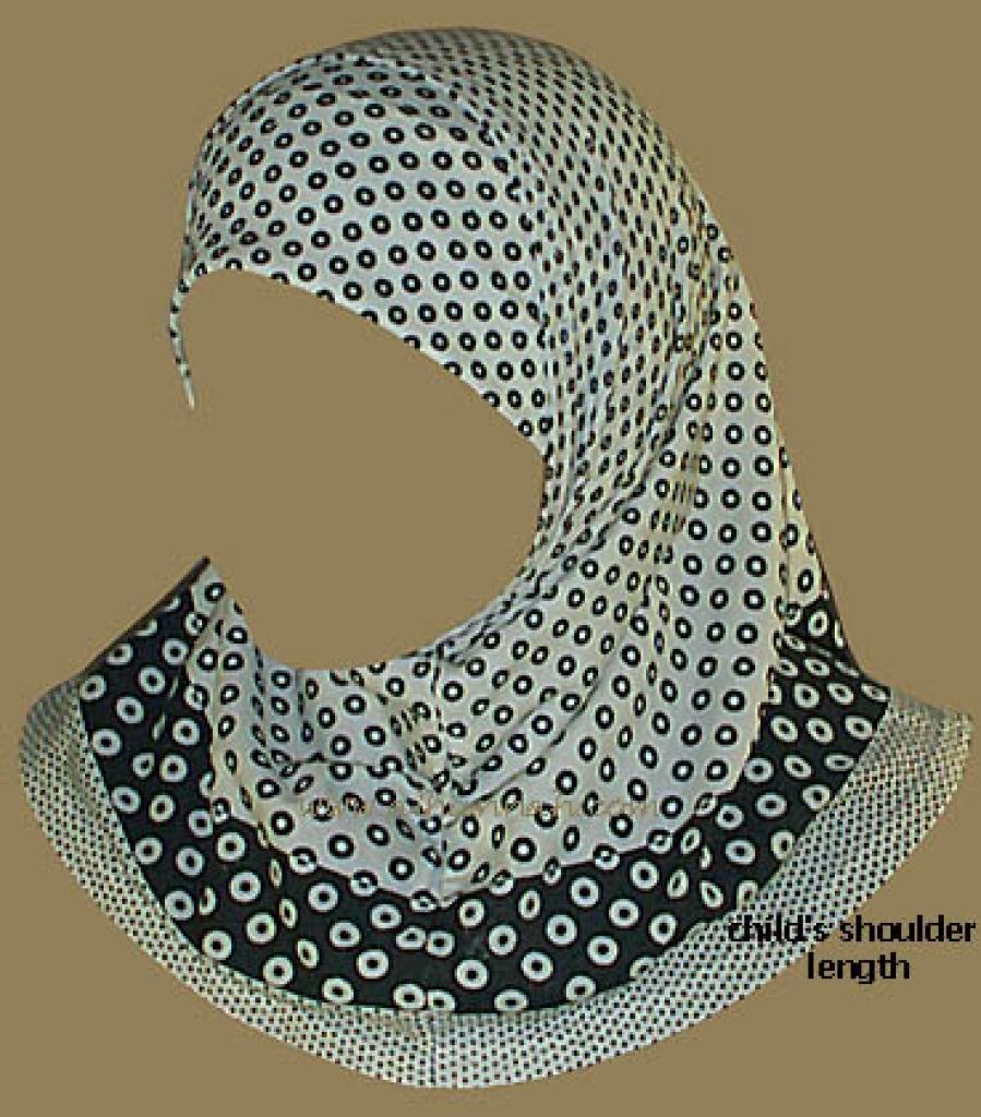 Child's Al Amira  Two Piece Hijab ch301