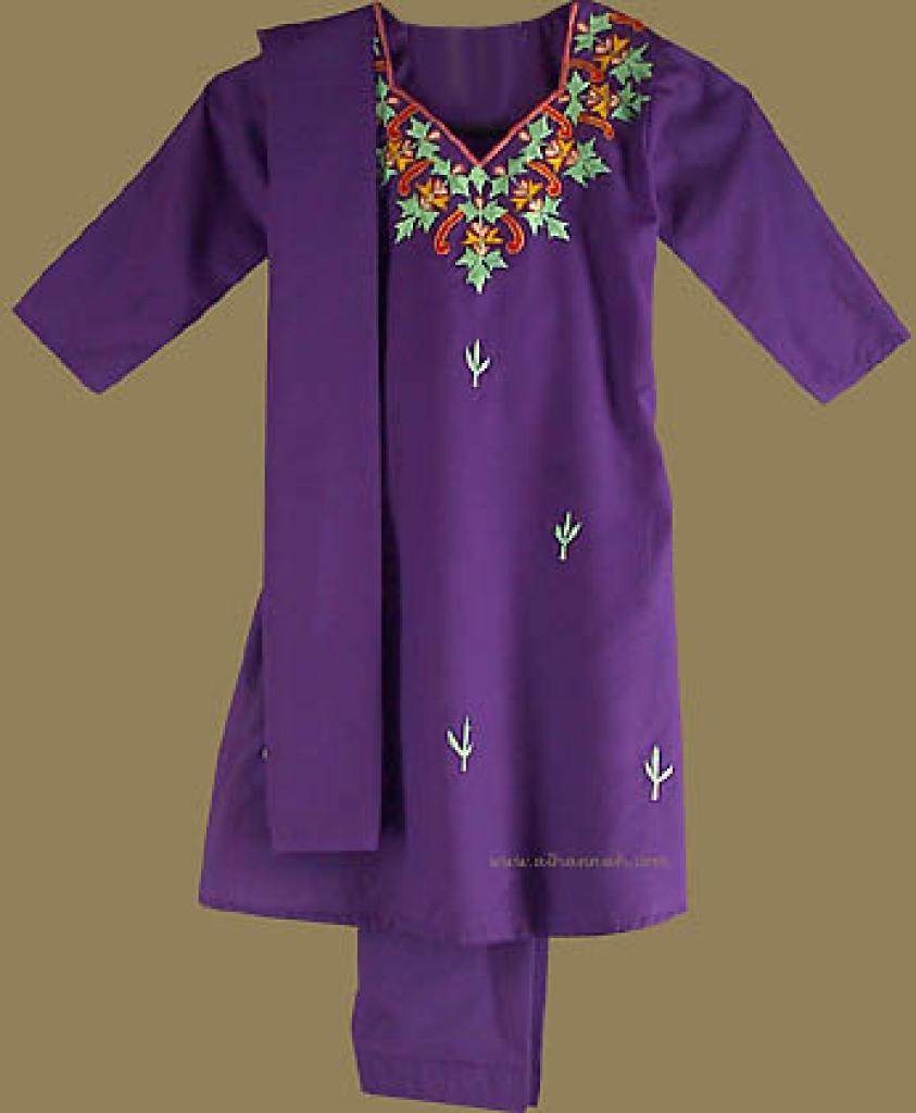 Traditional Girl's Embroidered Salwar Kameez ch308