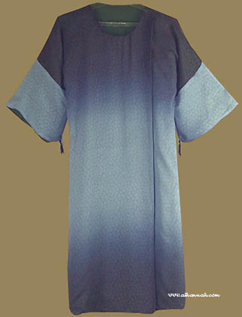 Girl's Reversable Omani Style Abaya with matching shayla   ch328