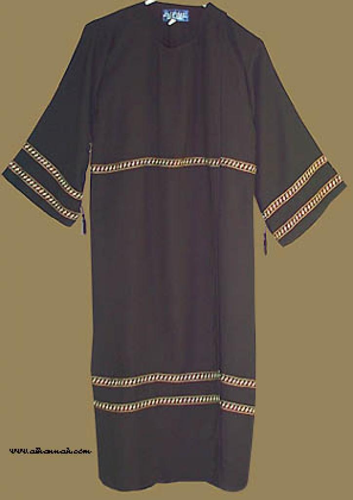 Girl's Omani Style Abaya with matching shayla   ch329