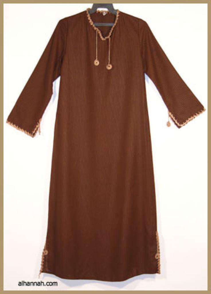 Girls Saudi Pull Over Abaya  ch375