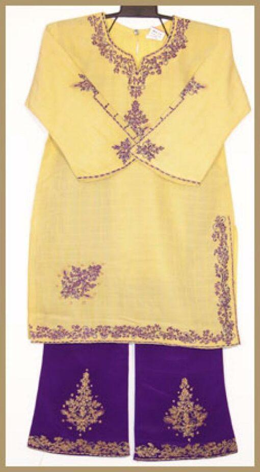 Girls Embroidered Salwar Kameez ch380