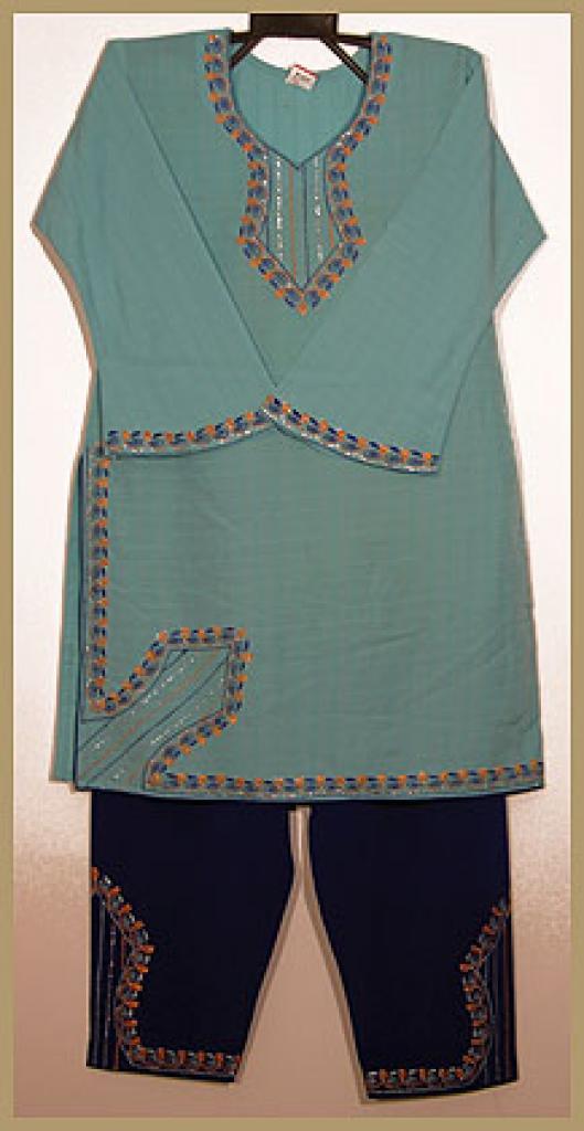 Girls Embroidered Salwar Kameez ch383