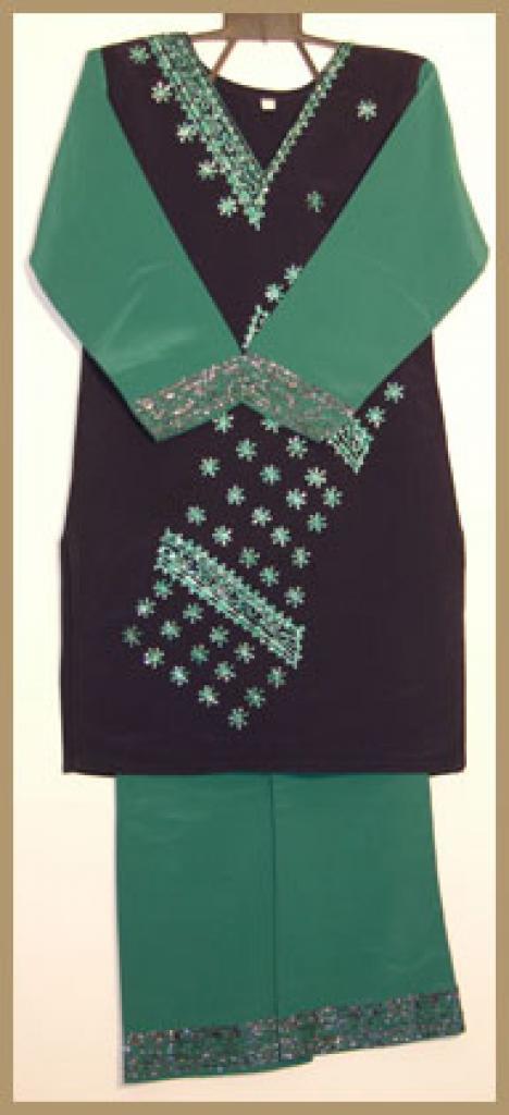 Girls Embroidered Salwar Kameez ch384