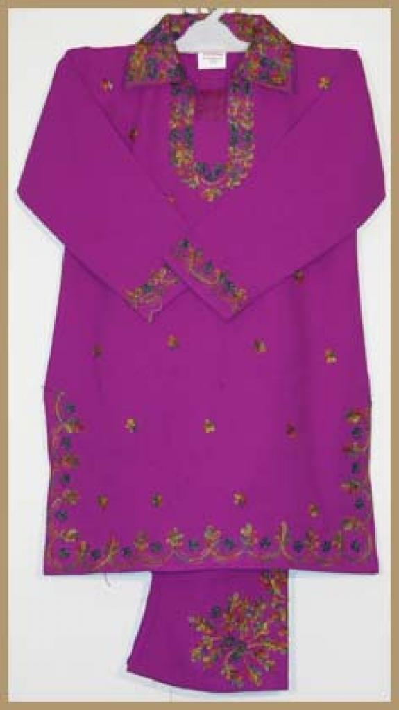 Girls Embroidered Salwar Kameez ch385