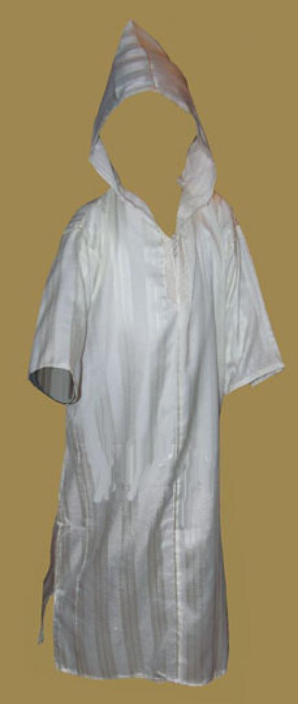 Boys Hooded Moroccan Dishdasha ch392